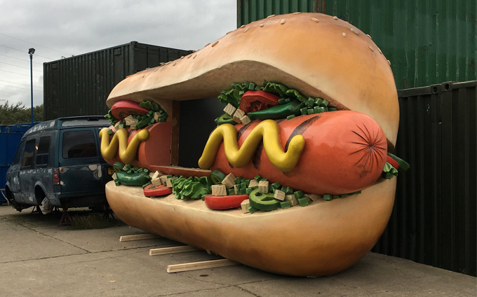 Hot Dog shipping containers sales hire self storage